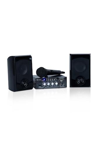 Auna Karaoke - Set, 2 x 50 W max., BT, USB/SD, Line - In »Karaoke Star 1« kaufen