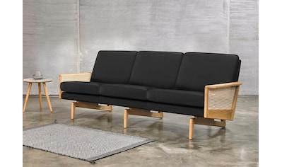 KRAGELUND 3-Sitzer »Egsmark«, K202, mit Holzarmlehne kaufen