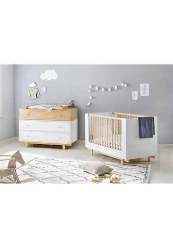 Pinolino® Babymöbel-Set »Boks«, (Spar-Set, 2 St.), breit; mit Kinderbett und... kaufen