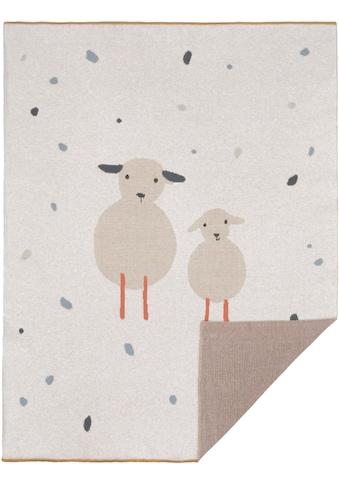 Babydecke »Tiny Farmer, Sheep«, Lässig kaufen