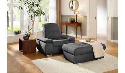 DELAVITA Hockerbank »Lotus Luxus«, mit besonders hohem Sitzkomfort, belastbar bis ca. 140 kg, wahlweise mit Stauraum kaufen
