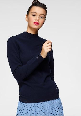 AJC Strickpullover, mit Zierknöpfen aus hochwertiger reiner Merino-Wolle kaufen