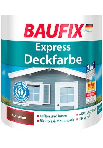Baufix Lack »Express Deckfarbe«, 2,5 Liter, braun kaufen
