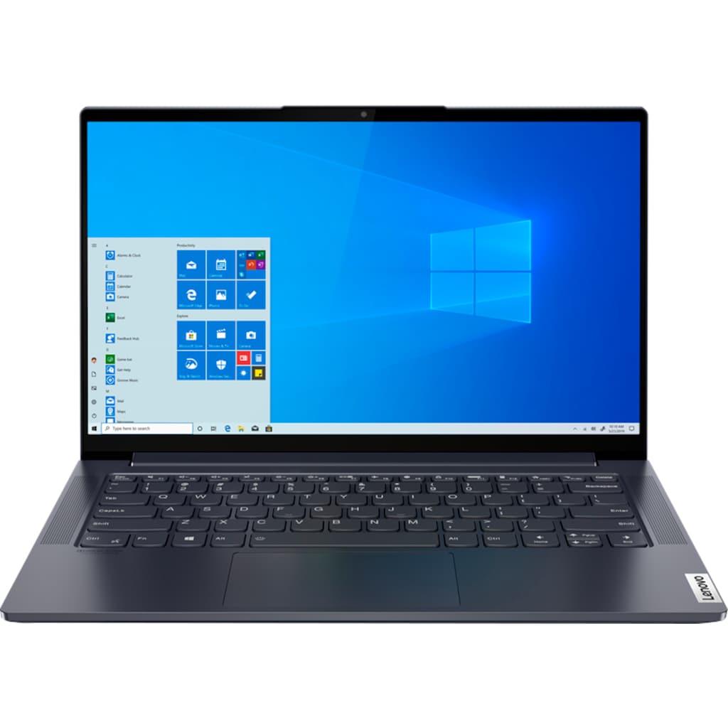 Lenovo Notebook »Yoga Slim7 14ITL05«, (35,6 cm/14 Zoll Intel Core i5 Iris© Xe Graphics\r\n 512 GB SSD), Lenovo Premium Care 2 Jahre und Yoga Sleeve