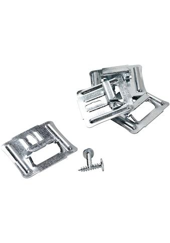 PARADOR Mittelklammer »ClickBoard«, 50 Stk., inkl. 50 Metallschrauben kaufen
