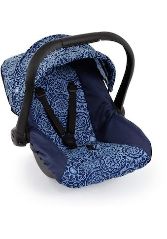 Bayer Puppen Autositz, blau, mit Dach kaufen