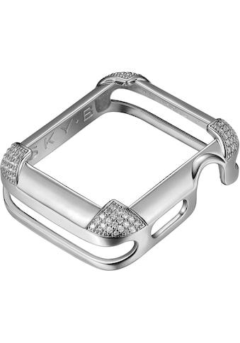 SKY•B Smartwatch-Hülle »PAVÉ CORNERS, W002S44, 44 mm«, Watch kaufen