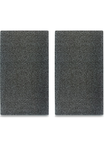 Zeller Present Schneide- und Abdeckplatte »Granit«, (Set, 2 tlg.), mit 6 Elastikfüßen... kaufen