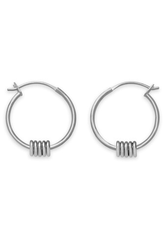 ROSEFIELD Paar Creolen »Iggy Multi hoop small silver, JMHSS - J067« kaufen