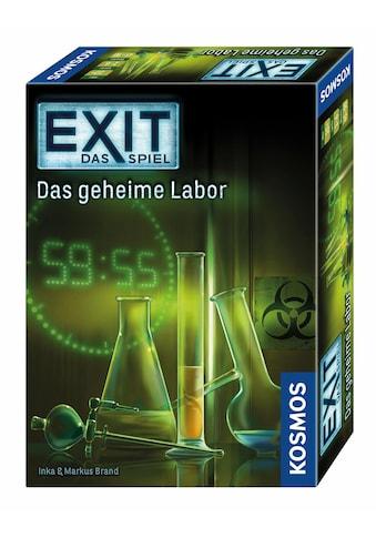 Kosmos Spiel »Exit Das Spiel, Das geheime Labor«, Made in Germany kaufen
