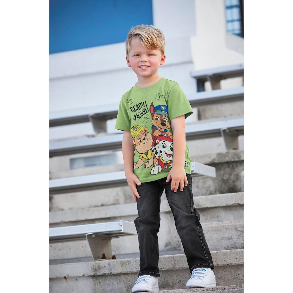 PAW PATROL T-Shirt »Ready 4 action!«