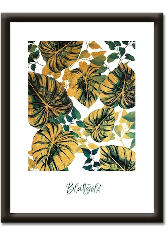 Artland Wandbild »Blattgold« kaufen