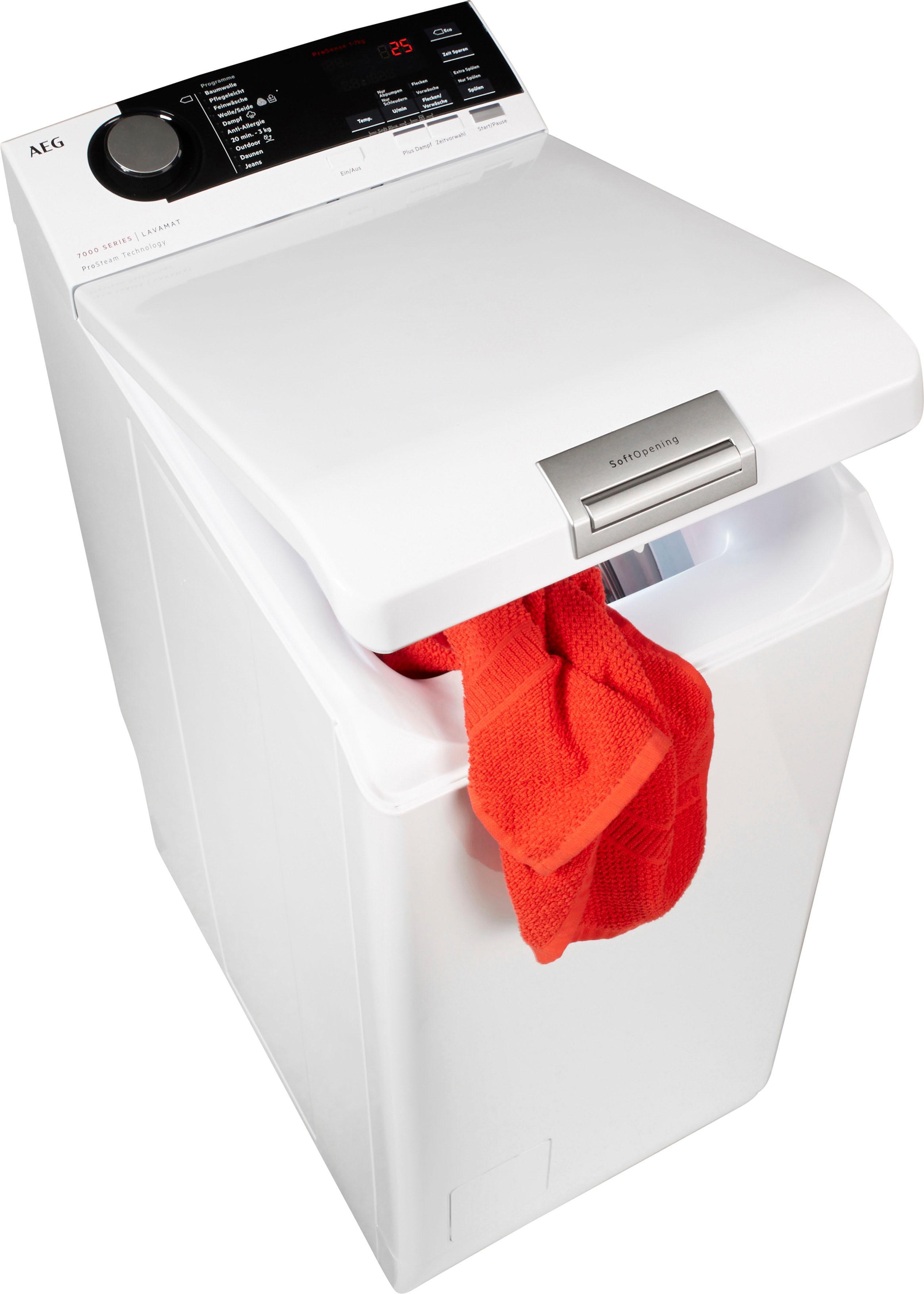 AEG Waschmaschine Toplader L7TE74275   Bad > Waschmaschinen und Trockner > Toplader   AEG