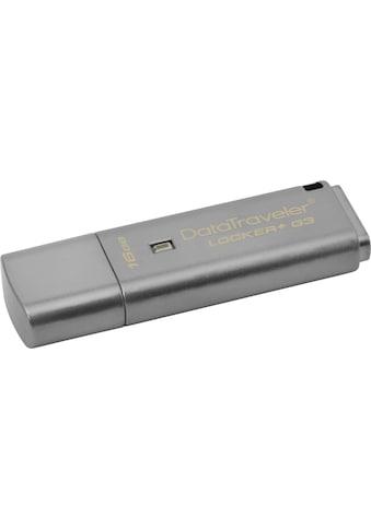 Kingston USB-Stick »DataTraveler Locker+ G3«, (USB 3.0) kaufen