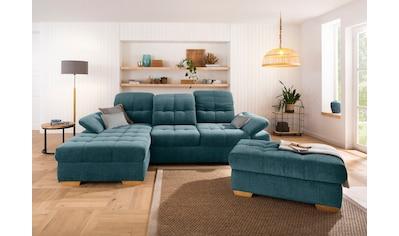 Home affaire Ecksofa »Lotus Home«, incl. Sitztiefenverstellung, wahlweise mit... kaufen