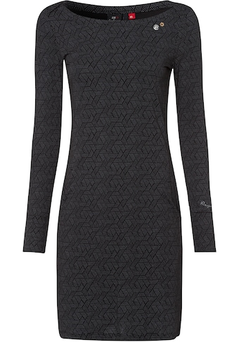 Ragwear Jerseykleid »RIVER«, in dezentem Allover-Print kaufen