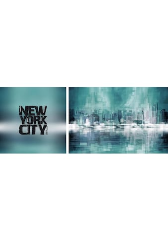 queence Leinwandbild »New York City«, (Set), 2er-Set kaufen