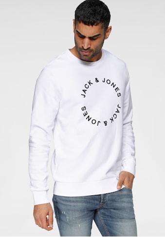 Jack & Jones Sweatshirt »CIRCLE FLOCK SWEAT« kaufen