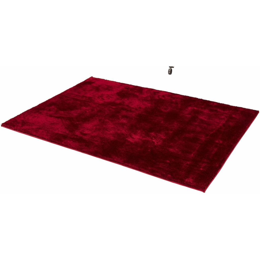 SCHÖNER WOHNEN-Kollektion Hochflor-Teppich »New Elegance«, rechteckig, 30 mm Höhe, Wunschmaß, weiche Microfaser