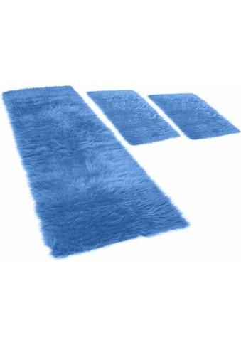 Hochflor - Bettumrandung »Pireo« KiNZLER, Höhe 70 mm (3 - tlg.) kaufen