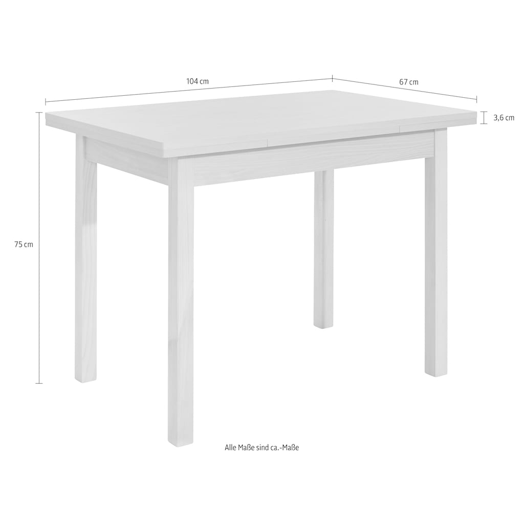 SCHÖSSWENDER Esstisch »Baden«, zeitloses Design