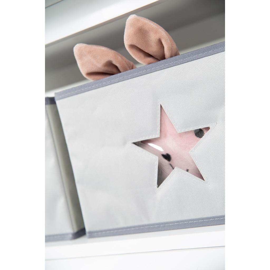 roba® Wickelkommode »Hamburg, taupe«, bis 15 kg, mit 2 Schubladen, 87 cm