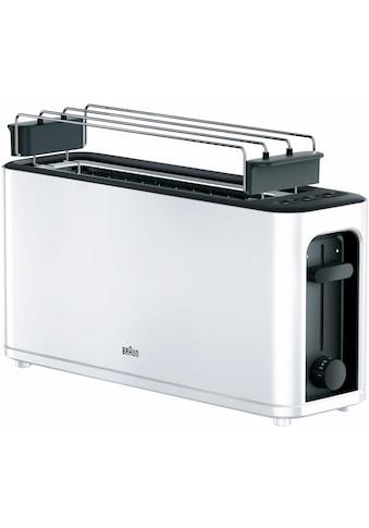 Braun Toaster »HT 3110 WH«, für 2 Scheiben, 1000 Watt kaufen