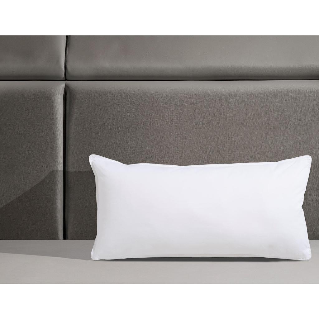 f.a.n. Schlafkomfort Kunstfaserkopfkissen »Texas«, Füllung: 100% Polyester, Bezug: 100% Baumwolle, (1 St.), in der Größe 40x80 mit AGR-Gütesiegel (Aktion Gesunder Rücken e.V), geprüft