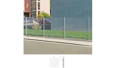 GAH Alberts Doppelstabmattenzaun, 100 cm hoch, 5 Matten für 10 m, 6 Pfosten kaufen
