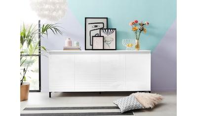 KITALY Sideboard »Genio«, Breite 184 cm, mit wendbare Blende kaufen