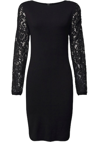 Esprit Collection Strickkleid, mit langen Ärmeln aus romantischer Spitze kaufen