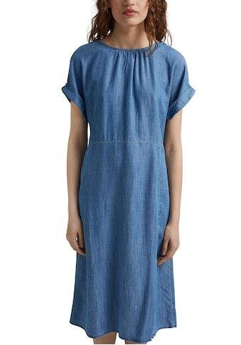 Esprit Jeanskleid, mit Knopfleiste im Rücken kaufen