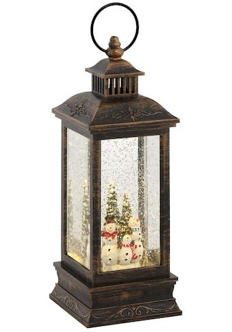 LED Laterne »Schneemann«, Warmweiß, mit weihnachtlichen Figuren, Höhe ca. 27,5 cm kaufen