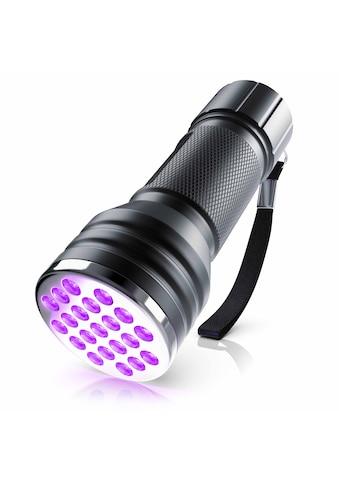 Brandson LED UV Schwarzlicht Taschenlampe Bernsteindetektor »Mini / Ultraviolett Leuchte 21x LEDs« kaufen