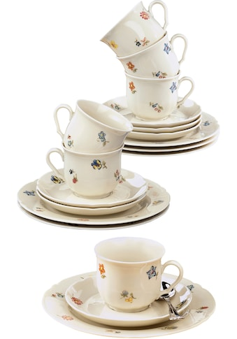 """Seltmann Weiden Kaffeeservice """"Marieluise"""" (18 - tlg.), Porzellan kaufen"""