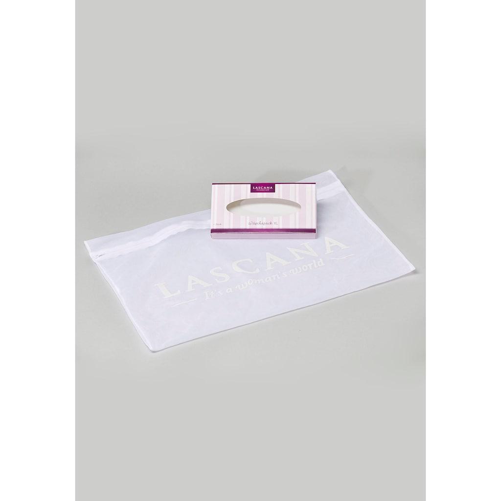LASCANA Wäschesäckchen, XL - schont die Wäsche in der Maschine