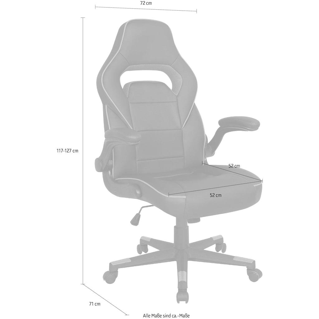 SalesFever Gaming Chair, Drehbar, kippar, höhenverstellbar