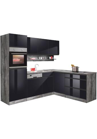 HELD MÖBEL Winkelküche »Virginia«, mit E-Geräten, Stellbreite 230/190 cm kaufen