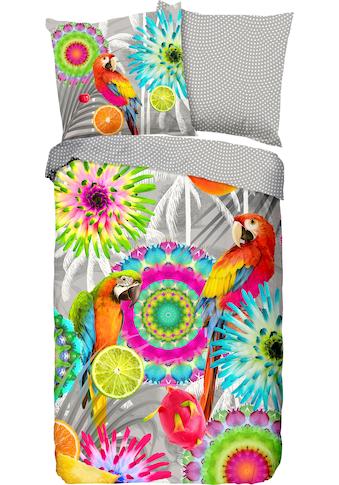 hip Wendebettwäsche »Kjenta«, mit Mandalas und Papageien kaufen