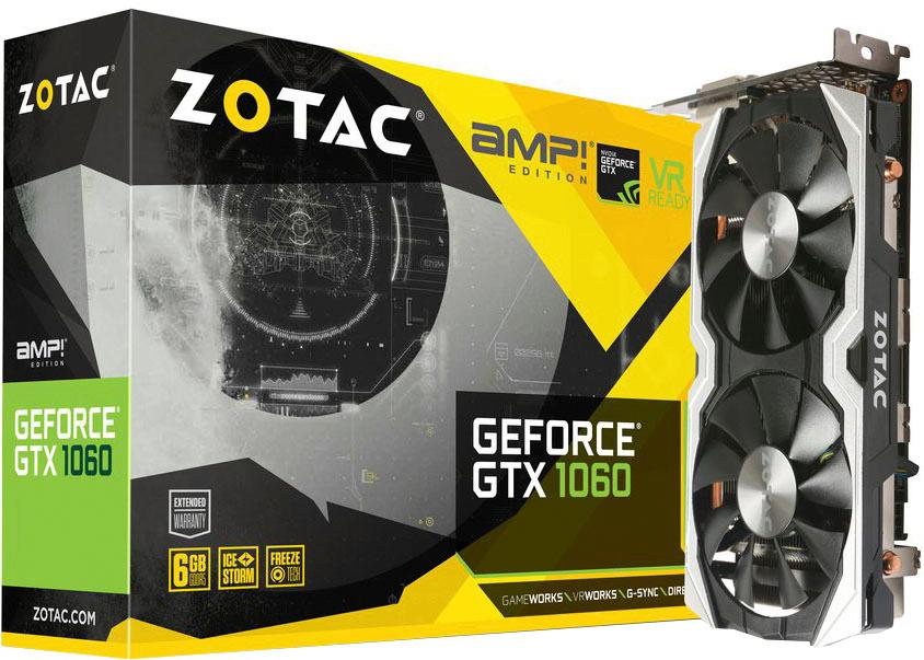 Zotac »GTX 1060 AMP! Edition« Grafikkarte (6 GB, GDDR5)