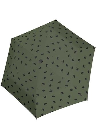 Knirps® Taschenregenschirm »US.050 Ultra Light Slim Manual, umbrella olive« kaufen