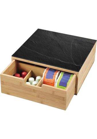 KESPER for kitchen & home Aufbewahrungsbox, (1 tlg.), für Kaffeekapseln oder Teebeutel kaufen