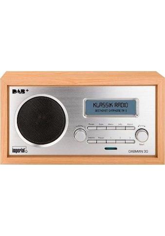 IMPERIAL Digitalradio (DAB+) »DABMAN 30«, ( Digitalradio (DAB+)-FM-Tuner 5 W) kaufen