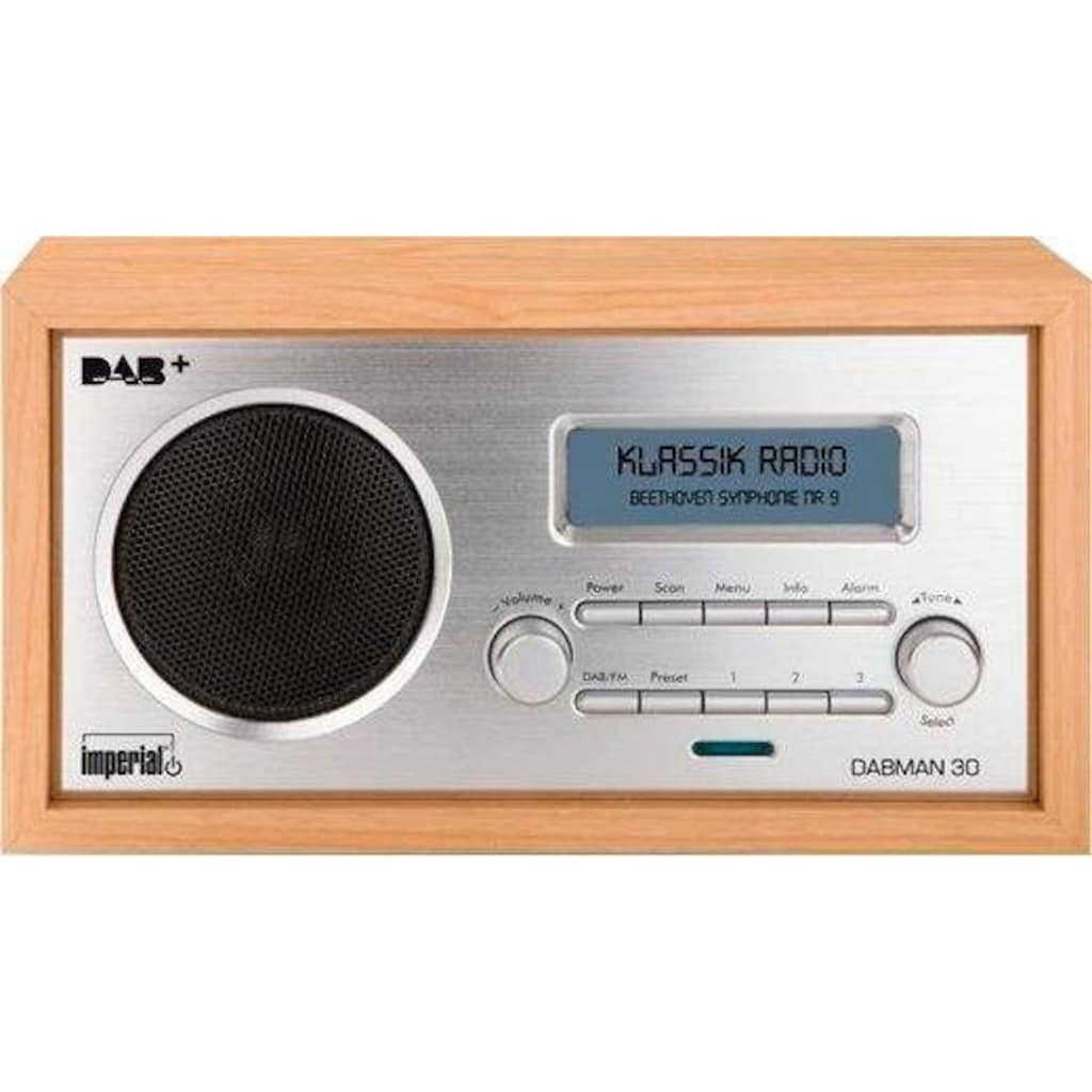IMPERIAL Digitalradio (DAB+) »DABMAN 30«, (Digitalradio (DAB+)-FM-Tuner 5 W)