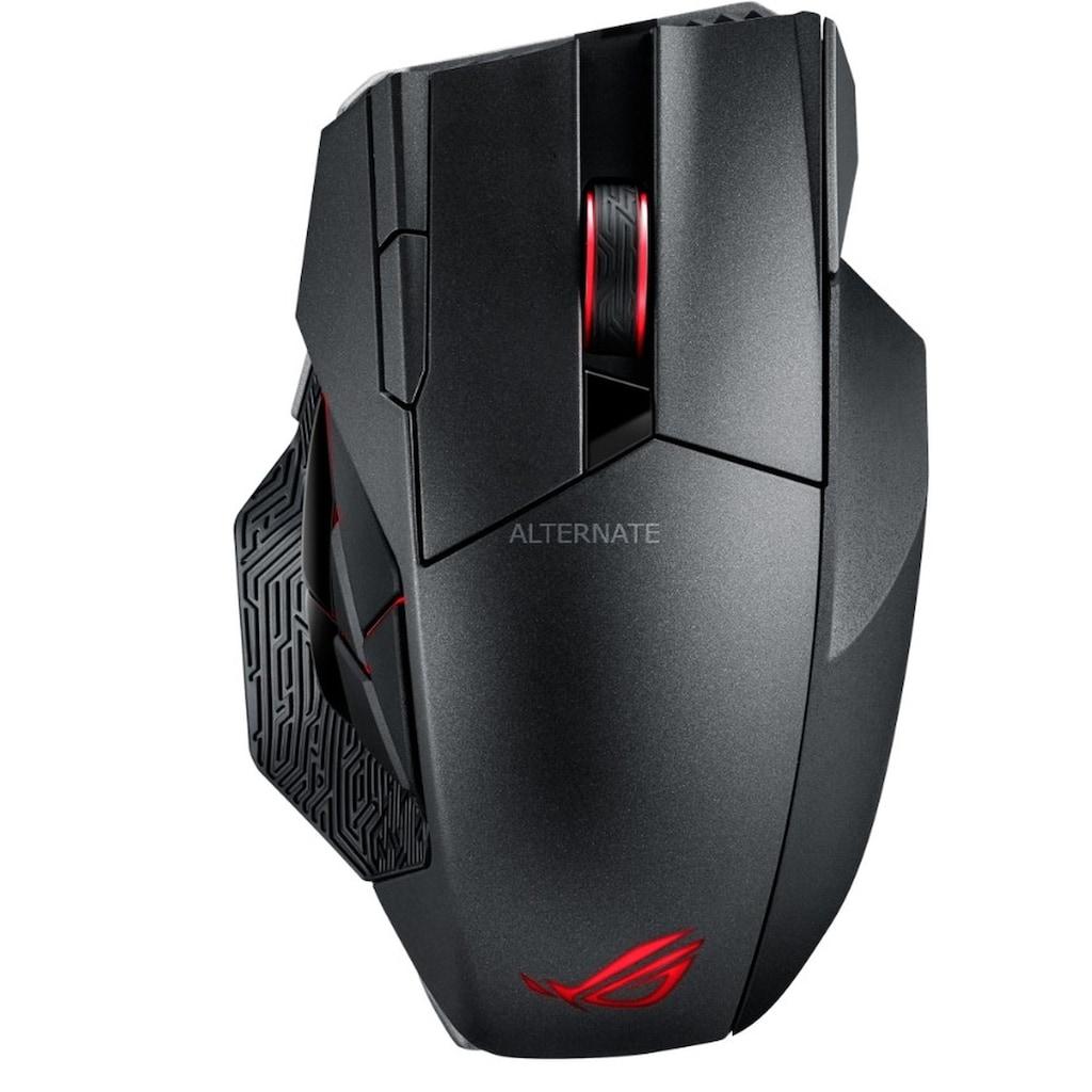 Asus Gaming-Maus »Gaming Maus«, kabelgebunden, ROG Spatha