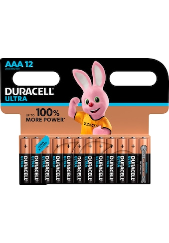 Duracell Batterie »Ultra Power Micro AAA LR03«, 1,5 V, (Packung, 12 St.) kaufen