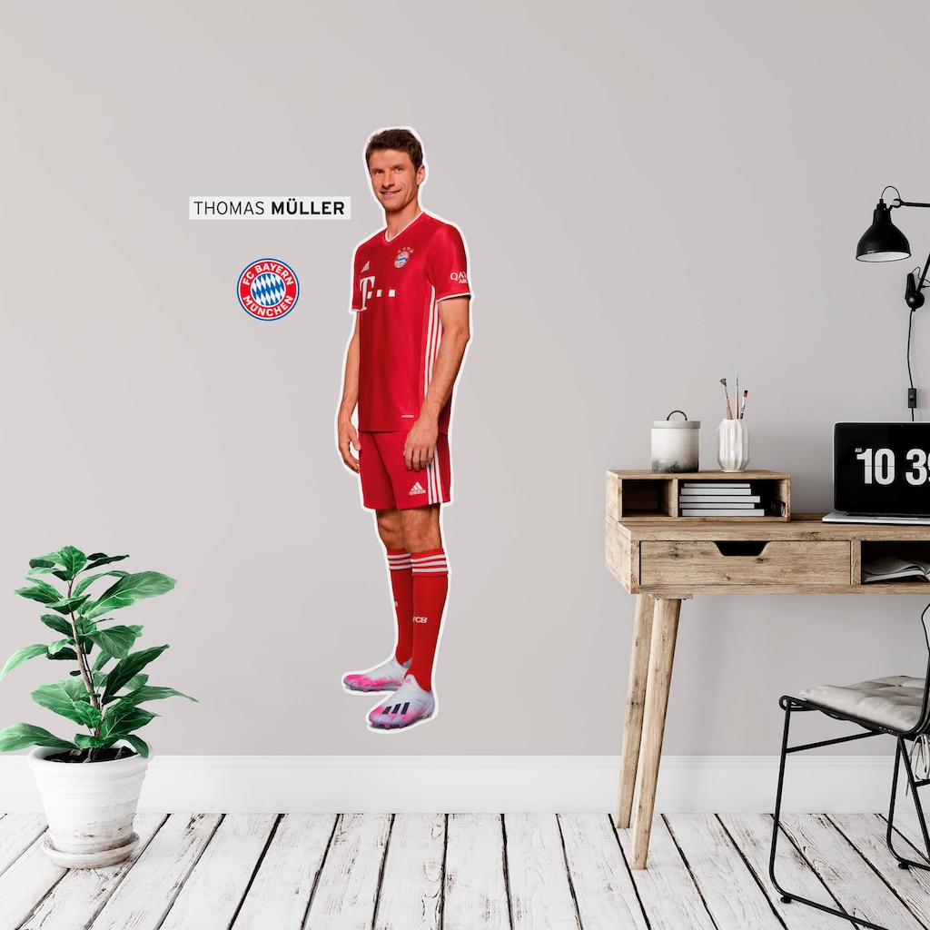 Wall-Art Wandtattoo »FCB Thomas Müller«