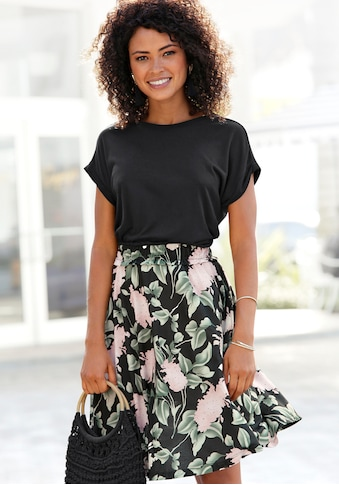 Buffalo Jerseykleid, mit Paperbag-Bund kaufen