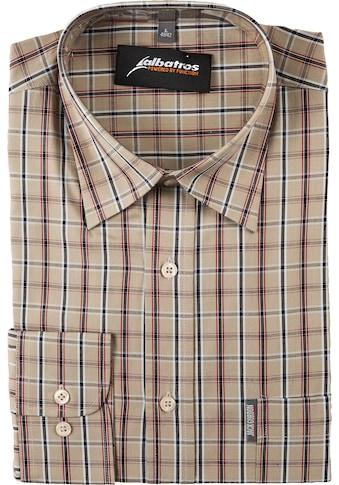 ALBATROS Hemd »Bronze 1/1«, Langarm, olive - kariert kaufen