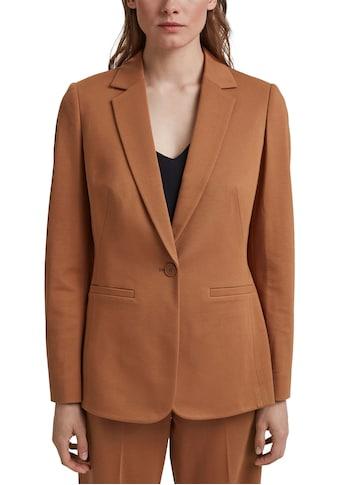 Esprit Collection Jerseyblazer, mit aufsteigendem Revers kaufen